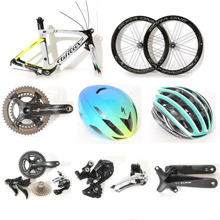 新着中古:Wilier、Campagnolo、SPECIALIZEDなど中古フレーム、ホイール、パーツ、ヘルメット8件入荷